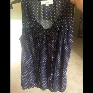 LOFT navy medium camisole